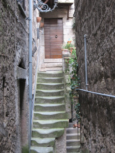 Bomarzo Hilltown Stairs FirstPhoto